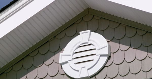 Love this style of gable vent with the keystones www for Fypon com