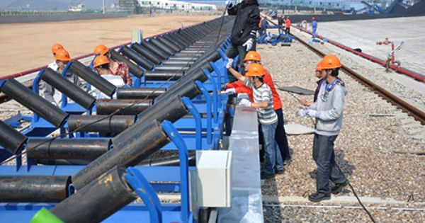 Fixed Belt Conveyor Is A Friction Drive Conveyor Transported Materials Continuously Belt Tools