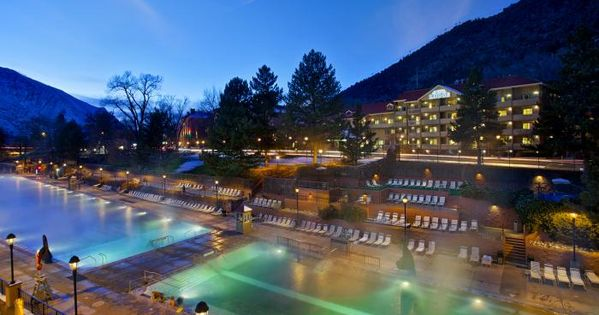 Hot springs colorado and spring on pinterest