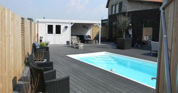 Zwembad swimming pool zwembaden zwemmen tuin achtertuin backyard pools - Zwembad interieur design ...