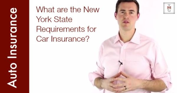 What Are The New York State Requirements For Car Insurance Car Insurance New York State Insurance