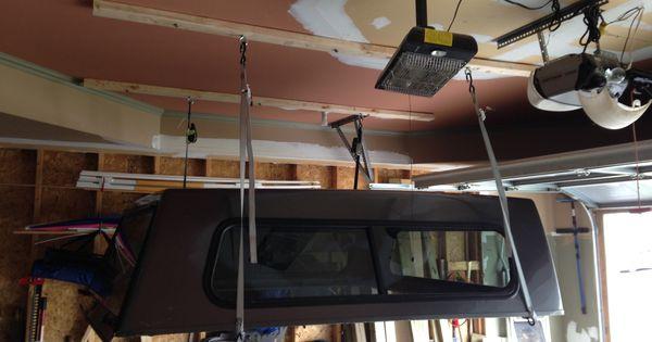 Truck Camper Plans Build Yourself: DIY Truck Cap Lift. Stage 1.