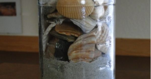 A Simple Summer Souvenir {beach in a jar!} ~ from TheFrugalGirls.com ~