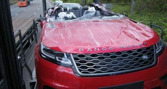 Breek Dit Is De Range Rover Velar Convertible Met Afbeeldingen