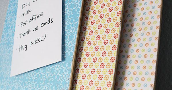 Clip board decorating tutorial -- I'm thinking I want a clipboard for