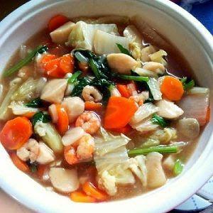 Resep Membuat Capcay Seafood Kuah Spesial Masakan Indonesia Resep Masakan Resep Masakan Indonesia