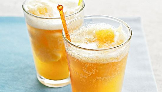 Sparkling Peach Punch | Recipe | The punch, Summer and Punch