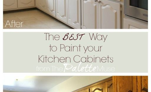 The best way to paint kitchen cabinets kitchens paint for Best way to paint kitchen cabinets video