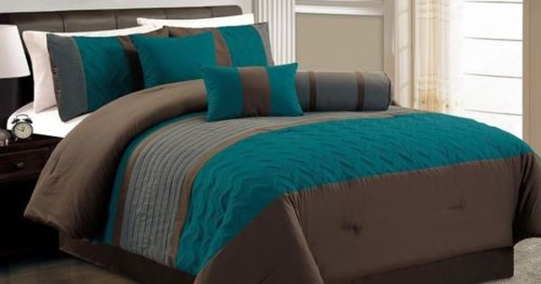 Pin By Janet Newman On Bedding And Throw S Comforter Sets Teal
