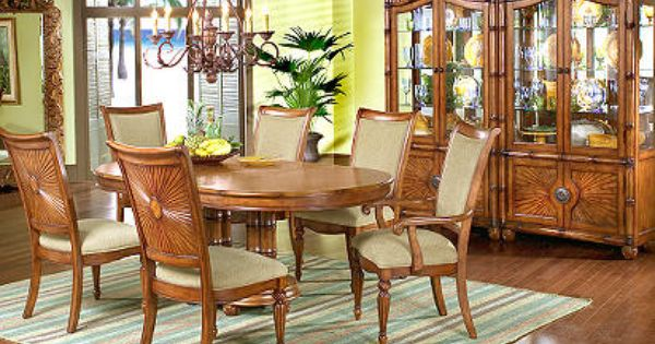 Cindy Crawford Home Collection Cindy Crawford Home Coconut Grove Formal 5 Pc Diningroom