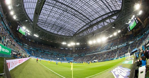 Estadio Krestovsky Em Sao Petersburgo Nova Casa Do Zenit Estadios Estadio Sao Petersburgo