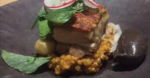 Pork Belly at Los Danzantes Cocktails \ Pinterest Pork - bao de piedra