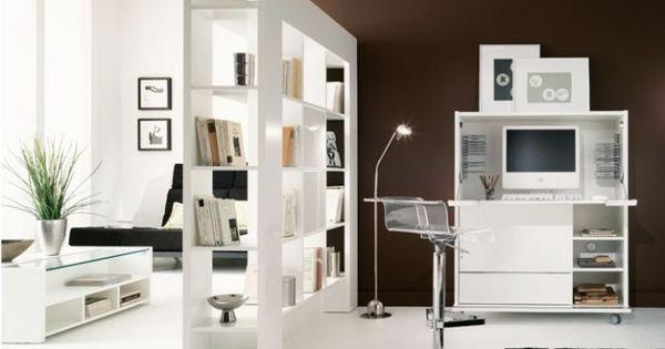 cloison biblioth que maison pinterest cloisons. Black Bedroom Furniture Sets. Home Design Ideas