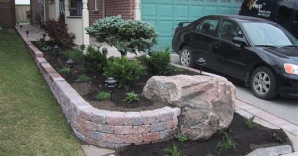 Landscape Boulders Tacoma : Rock dream home garden outside landscaping and rocks