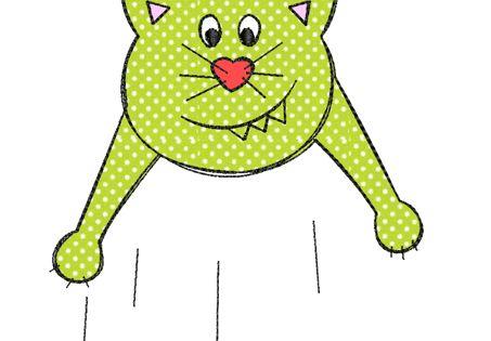 Auf loco ruso gato dama