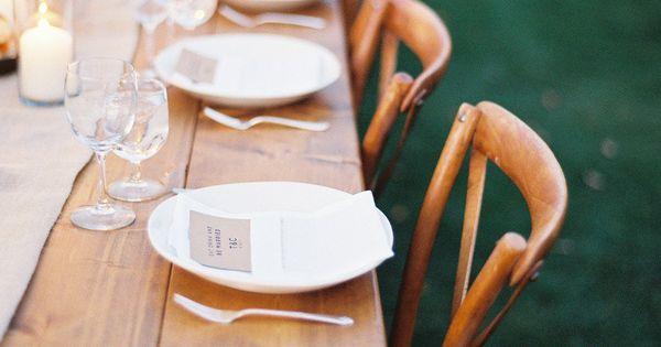 TABLE SETTING | Farm tables Photography by tecpetaja.com