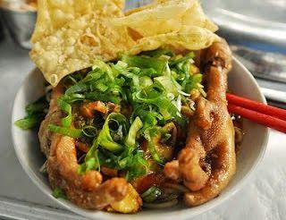 Resep Cara Membuat Mie Ayam Ceker Spesial Enak Resep Masakan Resep Sederhana Resep