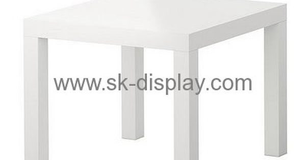 Acrylic Display Stand Manufacturers Customized Square White Coffee Table Afs 125 Acrylic Coffee Table Acrylic Table Coffee Table White