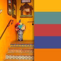 Mexican Color Palette Buscar Con Google Mexican Colors