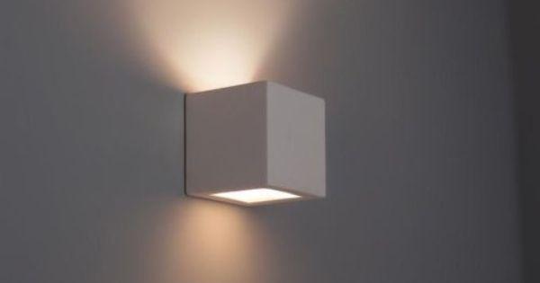 Details zu wandleuchte kubik keramik wandlampe lampe - Wandlampe treppenhaus ...
