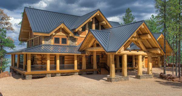 View Pioneer Log Homes Gallery Of Images Of Handcrafted