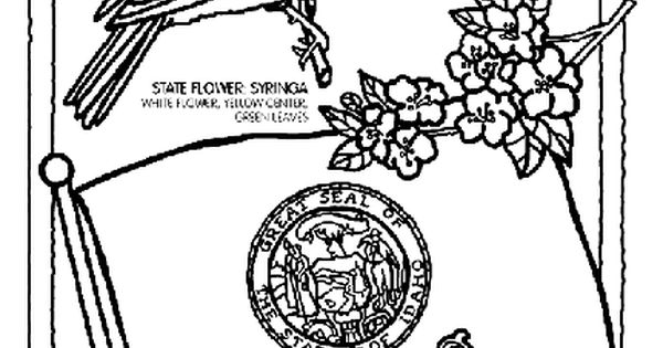 idaho state symbol coloring page by crayola  print or