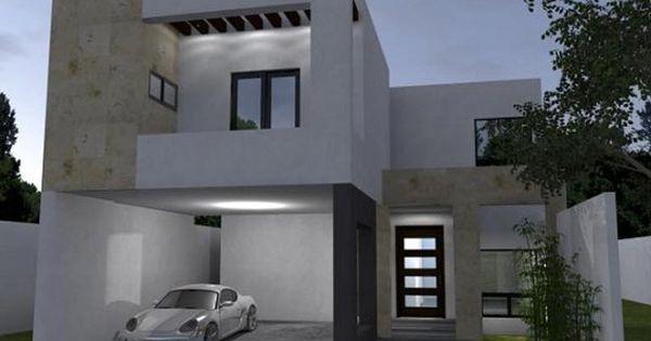 Fachada parte de arriba y poner en fachada puerta for Casa minimalista toluca