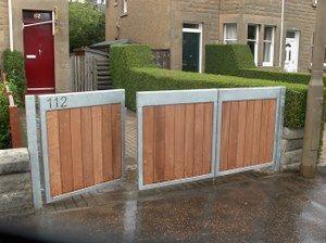 Tri Fold Driveway Gates Google Search Driveway Gate Diy Driveway Gate Backyard Gates