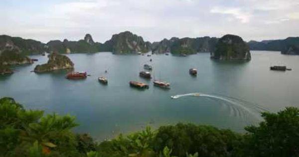 صور خليج هالونج أحد عجائب الدنيا السبع سبحان الله على هذا الجمال 7 Natural Wonders What A Beautiful World Popular Travel Destinations