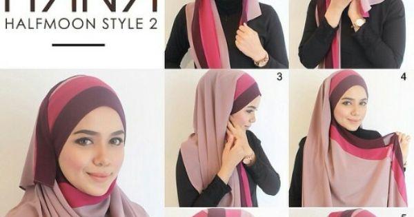 Radiusite :: hijab tutorial   #ootd_tutorial   Pinterest