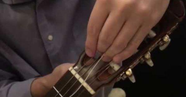 To Put Nylon Strings 111