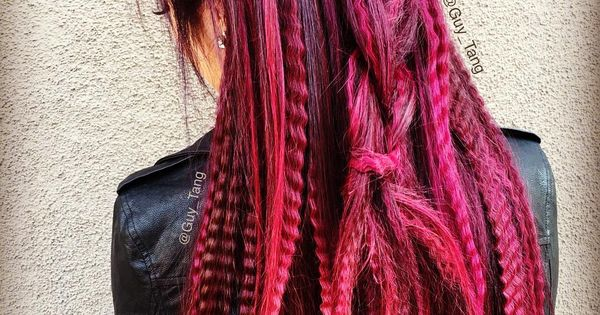 red red wine by guy tang balayage ombre collection pinterest style haare bunte haare und haar. Black Bedroom Furniture Sets. Home Design Ideas