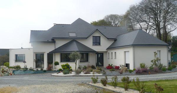 Grande maison contemporaine d 39 architecte prestations haut for Aspiration integree maison