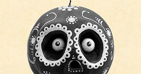 Dia De Los Muertos Hanger by Chicken Lips Folk Art, via Flickr