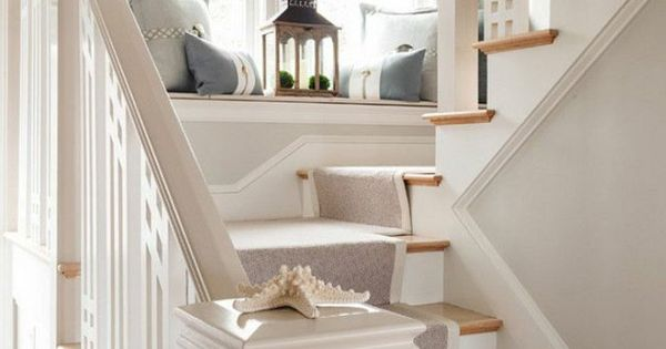 Le tapis pour escalier en 52 photos inspirantes tapis pour escaliers escaliers en bois et - Tapis pour escalier en bois ...