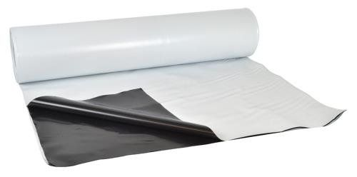 Reinfoced Woven Plastic Poly Sheeting 24 Feet X 100 Feet 6 Mil Nominal Transparentwhite Incredibly Durable Tear Resist Drop Cloth Hardware Cloth Slip And Slide