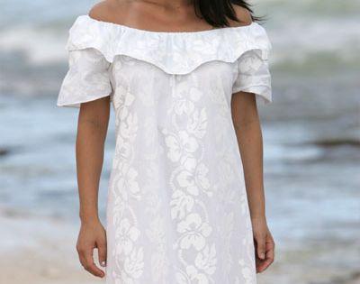 Plus size hawaiian dresses 26 for Hawaiian wedding dresses plus size