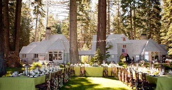Quist Estate Lake Tahoe Wedding Venues Pinterest