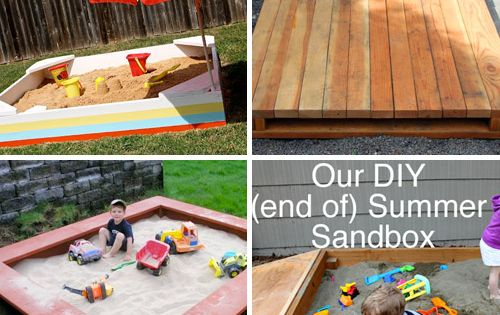 Making a covered sandbox