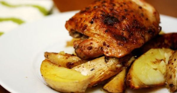 Check out Eat for Eight Bucks: Maple-Mustard Baked Chicken ...