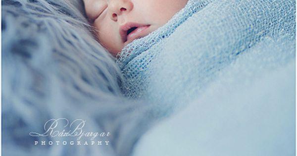 Beautiful newborn baby picture