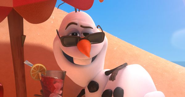 Beat those winter blues away and click the image to watch Olaf's