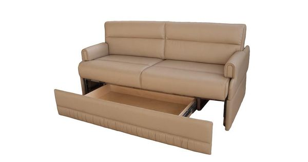 Omni Jackknife Sofa W Removable Arms RV Living