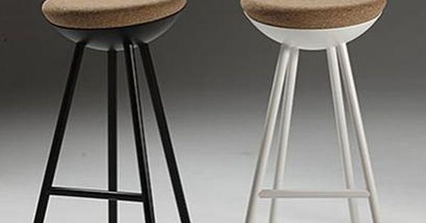 Object Hightower Boet Modern Bar Stools Metal Frame Cork Seat Modern Bar Stools World Market Dining Chairs Bar Stools