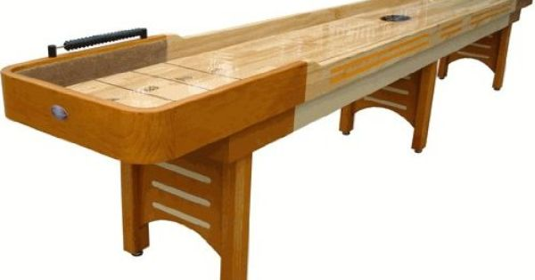 Playcraft Coventry 16 Honey Oak Shuffleboard Table Amazon Ca