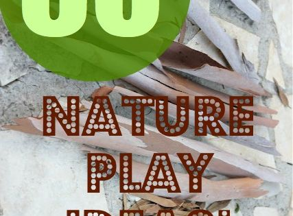 60 Ideas for using natural objects during play from the imagination tree
