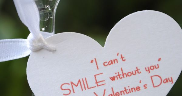 Kims Kandy Kreations: 10 Non-Candy Valentine Ideas **you make me smile**