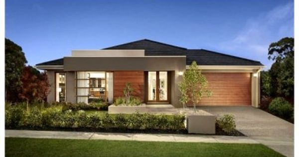 Fachadas de casas sencillas de una planta fachadas for Modelos de casas de una planta modernas