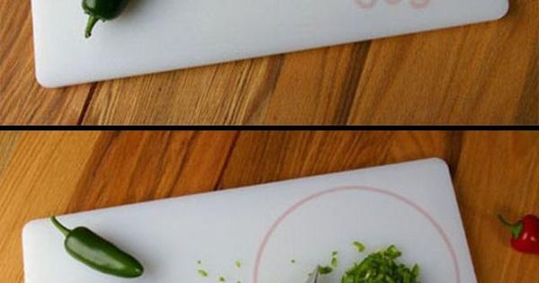 Design Concept: Cutting Board with Embedded Scale