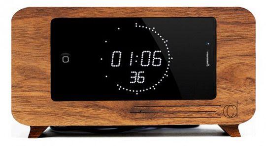 5 Creative Wooden Alarm Clock Iphone Docks Alarm Clock Iphone Alarm Clock Clock
